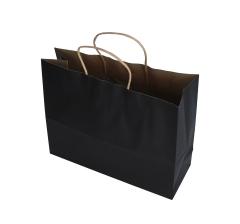 Пакет подарочный черный 26cm /32cm /12cm 9T9549