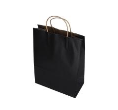 Пакет подарочный черный 34cm /25cm/ 12cm 9T9550