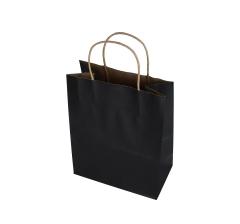 Пакет подарочный черный 28cm /20cm /12cm 9T9551