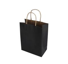 Пакет подарочный черный 21cm /15cm /9cm 9T9552