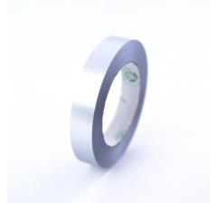 Лента пластиковая 3 см /50 ярдов, серебряная