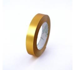 Лента пластиковая 3 см /50 ярдов, золото