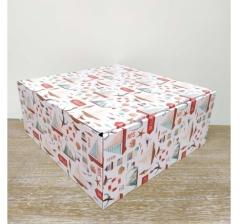 Коробка 30*30*13 см, дизайн 2020-63, ДП95