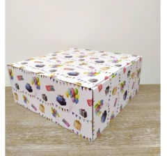 Коробка 30*30*13 см, дизайн 2020-66, ДП95