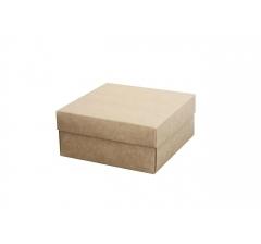 Коробка подарочная 150*150*70 мм, крафт