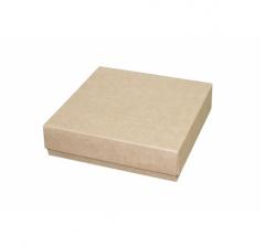 Коробка подарочная 150*150*40 мм, крафт