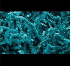 Бумажная дизайнерская стружка (100 г), океан