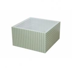 Коробка 160*160*90 мм, дизайн 2020-4 с прозрачной чехлом