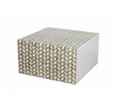 Коробка 160*160*90 мм, дизайн 2020-5, белое дно