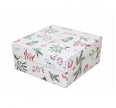 Коробка 150*150*70 мм, дизайн НГ2020-6