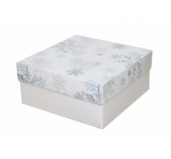 Коробка 150*150*70 мм, дизайн НГ2020-12,с белым дном