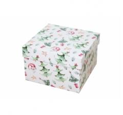 Коробка 150*150*100 мм, дизайн НГ2020-9