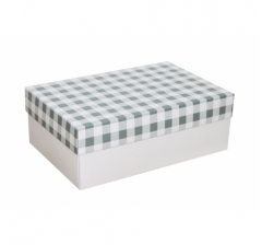 Коробка 230*150*80 мм, дизайн НГ2020-7, белое дно