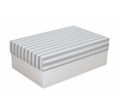 Коробка 230*150*80 мм, дизайн НГ2020-23, белое дно