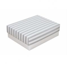 Коробка 190*150*60 мм, дизайн НГ2020-23,белое дно