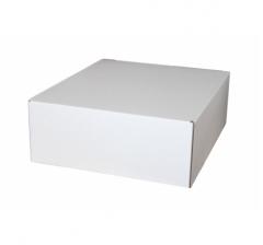 Коробка из микрогофрокартона 300*250*100 мм, белая