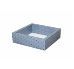 Коробка 175*175*50 мм с прозрачной крышкой, дизайн 2020-66