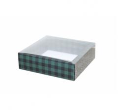 Коробка 175*175*50 мм с прозрачной крышкой, дизайн 2020-82