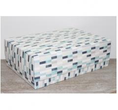 Коробка подарочная 390*270*130 мм, дизайн 2020-64