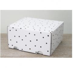 Коробка подарочная 180*157*90 мм, дизайн 2020-48