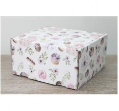 Коробка подарочная 180*157*90 мм, дизайн 2020-55