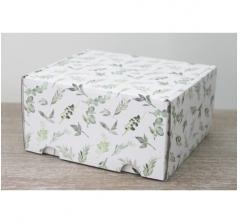 Коробка подарочная 180*157*90 мм, дизайн 2020-54
