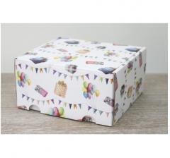 Коробка подарочная 180*157*90 мм, дизайн 2020-52