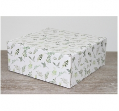 Коробка 20*20*8,5 см, дизайн 2020*54, ДП81