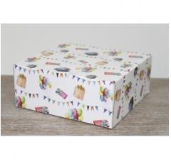 Коробка 20*20*8,5 см, ДП81, дизайн ,2020-52