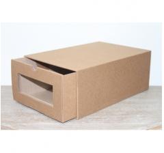Коробка для хранения 364*224*142 мм, крафт