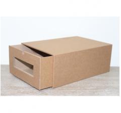 Коробка для хранения 313*220*123 мм, крафт