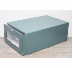 Коробка для хранения 364*224*142 мм, зеленая