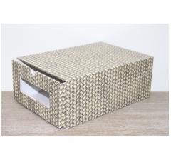 Коробка для хранения 313*220*123 мм, дизайн 2020-46