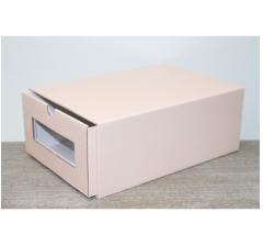 Коробка для хранения 313*220*123 мм, персиковая