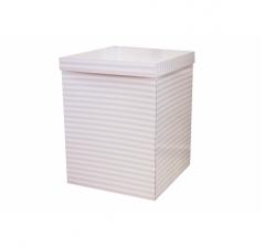 Коробка 55*57*72 см, розовые полоски.Не отправляем почтой.