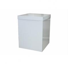 Коробка 55*57*72 см, голубые полоски. Не отправляем почтой.