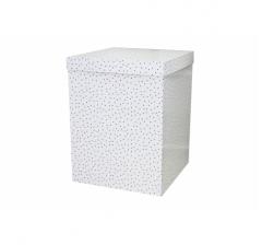 Коробка 55*57*72 см, горошки. Не отправляем почтой.