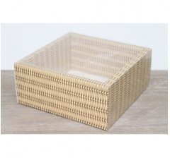 Коробка 230*230*100 мм с прозрачным чехлом, дизайн 2020-56