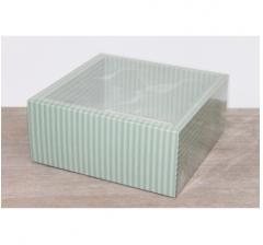 Коробка 230*230*100 мм с прозрачным чехлом, дизайн 2020-65
