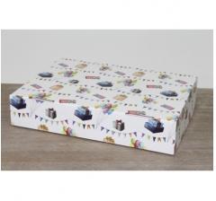 Коробка 28*21*6 см, ДП77, , дизайн 2020-52