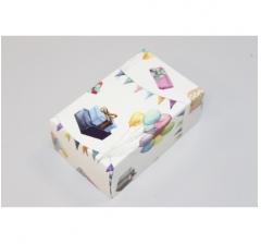Коробка подарочная 100*60*40 мм, дизайн 2020-52