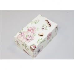 Коробка подарочная 100*60*40 мм, дизайн 2020-55