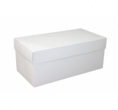 Коробка подарочная 360*180*150 мм, белая