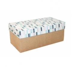 Коробка подарочная 360*180*150, дизайн 2020-10, крафт дно