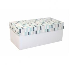 Коробка подарочная 360*180*150, дизайн 2020-10, белое дно