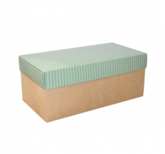 Коробка подарочная 360*180*150, дизайн 2020-7, крафт дно
