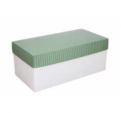 Коробка подарочная 360*180*150, дизайн 2020-7, белое дно