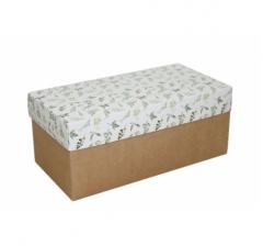 Коробка подарочная 360*180*150, дизайн 2020-1, крафт дно