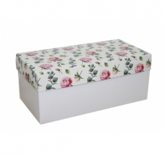 Коробка подарочная 360*180*150, дизайн 2020-4, белое дно