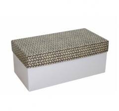 Коробка подарочная 360*180*150, дизайн 2020-12, белое дно